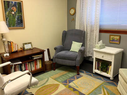 Jeremy Cole, LCSW psychotherapy office